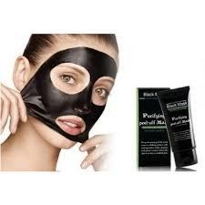 Black mud Deep Cleansing purifying peel off Facial face mask Remove blackhead facial mask 50ml