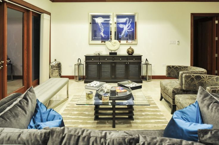 A Shot Of The Living Room From Casa Luna Project Interior Design Cayman Islands