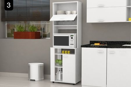17 best images about muebles para hornos micro on - Muebles para microondas ...