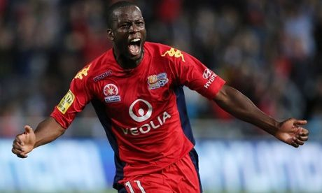 Bruce Djite of Adelaide United
