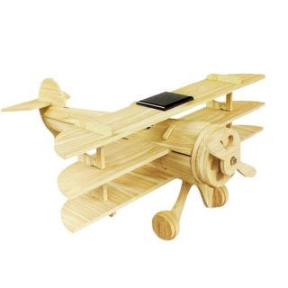 Ηλιακό ξύλινο αεροπλάνο