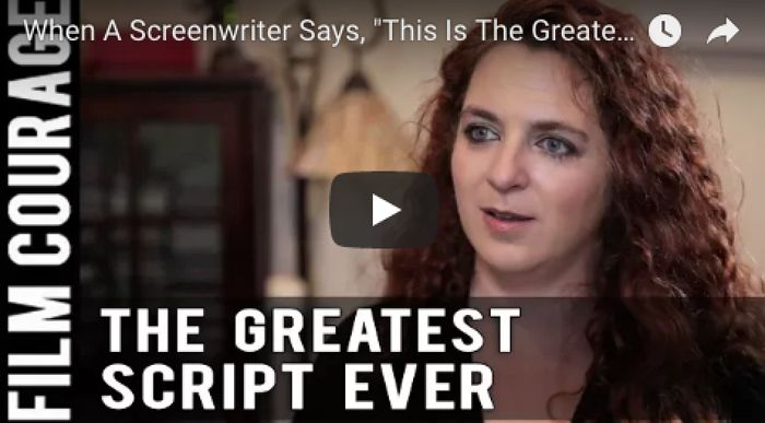 """When A Screenwriter Says, """"This Is The Greatest Script You Will Ever Read"""" by Lee Jessup via FilmCourage.com. #writing #screenwriting #screenwriter #writingtips"""