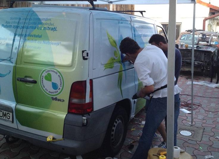 """Traseul caravanei Campaniei """"Controlul Integrat al Poluarii cu Nutrienti"""""""