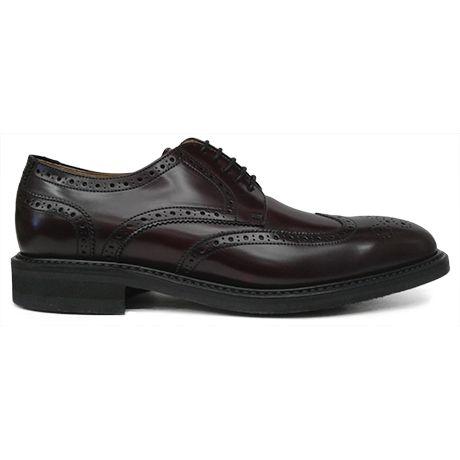 e110764b761 Zapato blucher con pala vega y picado maría en burdeos de Berwick 1707  vista lateral