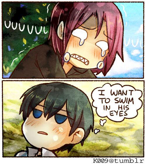 Free! - Iwatobi Swim Club, haruka nanase, haru nanase, haru, nanase, haruka, rin matsuoka, rin, matsuoka, free!, iwatobi, rinharu