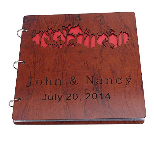 11/6/2016 --  Try Customizable Anniversary Scrapbook, Wooden Hollow. Only $29.98! :)
