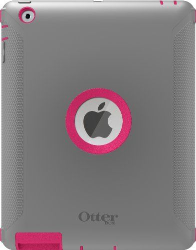 OtterBox Defender Series Case with Screen Protector and Stand for iPad 4th Generation, New Ipad & Ipad 2 – Pink Alpenglow   OtterBox Defender Series Case with Screen Protector and Stand for iPad 4th Generation, New Ipad & Ipad 2 - Pink Alpenglow Developed with your active lifestyle in mind, the iPad Defender Series case from OtterBox employs multi-layer technology combined with high-quality materials to create the most solid protective solution. The Defender Series for the new iPad i..