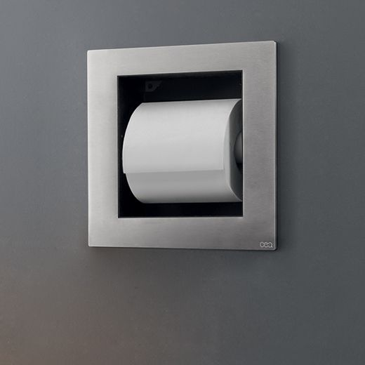Built In Toilet Paper Holder By Cea Design From Pure