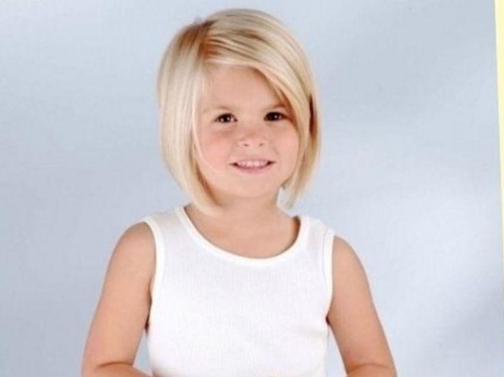 Küçük Kızlar için 2017 Saç Kesimleri