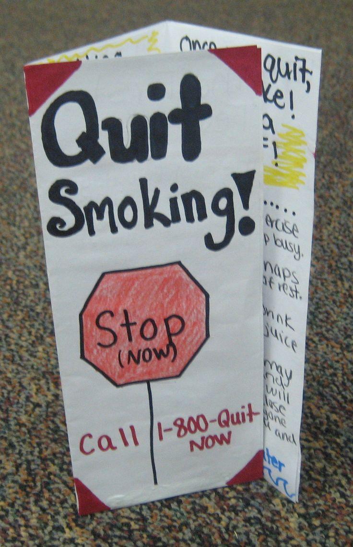 Quit Smoking Brochures.