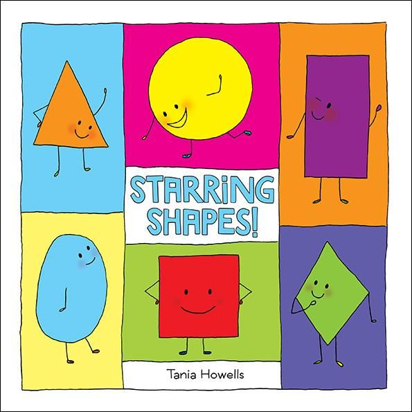 """In this clever picture book, six different shapes attend Shapeston Elementary School along with the children: Triangle, Square, Circle, Rectangle, Rhombus (or """"Diamond"""" to her friends) and Oval. As the story begins, the big news at school is the upcoming play. Everyone is looking forward to auditioning, especially the shapes. One by one they are introduced, with descriptions of their unique personalities and interests, along with the roles they've played before."""
