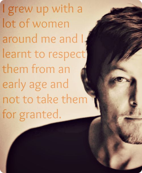 Norman Reedus: Kind of perfect
