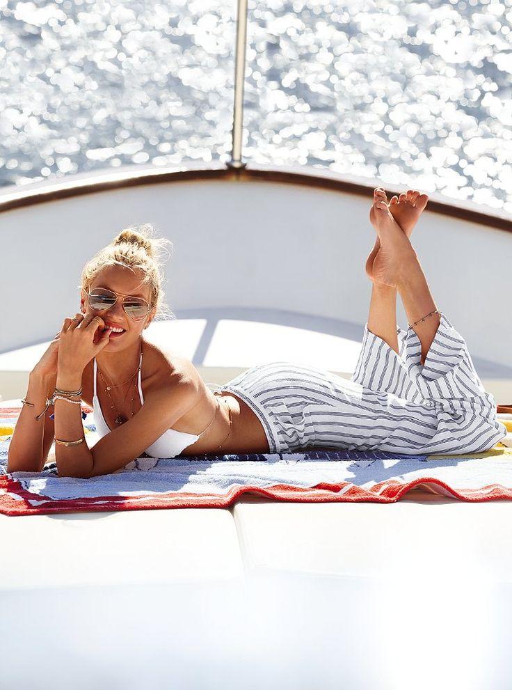 #Candice Swanepoel for VS Swim
