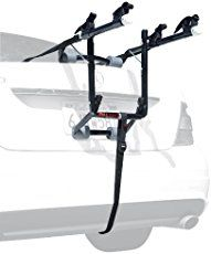 Fits most sedans, hatchbacks, minivans, and SUVs 12- inch long carry arms accommodate a wide range of bicycle styles