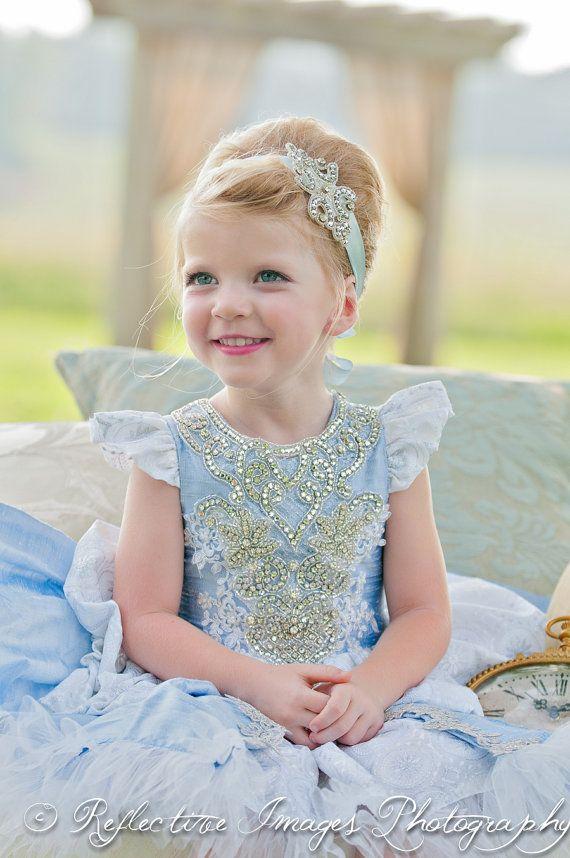 PINK color change, Cinderella costume, Blue Princess, Halloween Costume, Child's Princess Costume, Birthday Dress