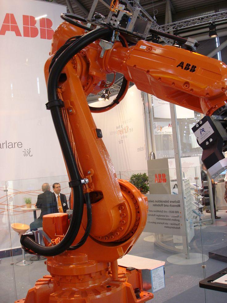 Cabos e Conectores Elétricos, Tubos Corrugados e Componentes Mecânicos para Robôs ABB...