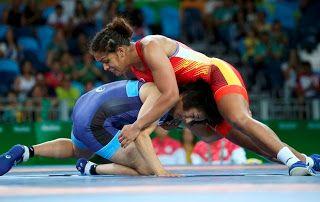 Blog Esportivo do Suíço:  Aline Silva vence japonesa e avança às quartas na luta olímpica