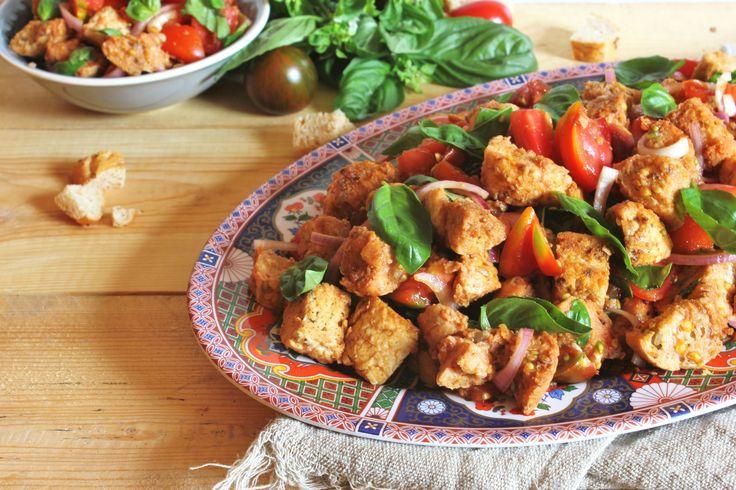 Gyors vacsora: toszkán kenyérsaláta http://www.nlcafe.hu/gasztro/20150903/toszkan-recept-salata-gyors-vacsora/