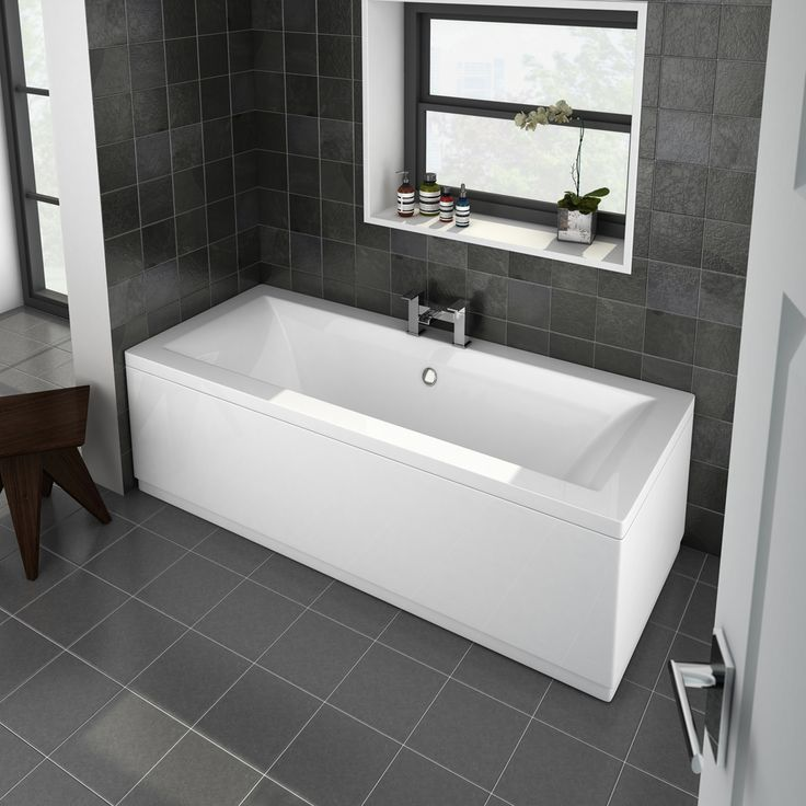 Shop the Buxton Double Ended Bath and give your bathroom a stunning transformation. Now in stock and available online at Victorian Plumbing.co.uk.