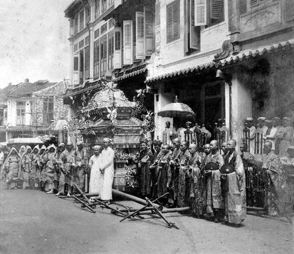 A STRAITS CHINESE FUNERAL PROCESSION. THE LIBYAN Esther Kofod www.estherkofod.com