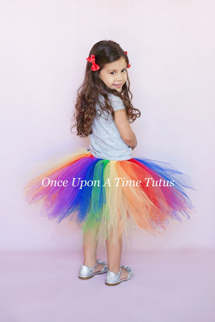 Rainbow Pixie TuTu - Girls Size 3 6 9 12 18 Months 2T 3T 4T 5T 6 7 8 10 12 14 Teen Adult - First Birthday, Little Girls Halloween Costume by OnceUponATimeTuTus on Etsy