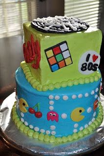 12 best images about party idea 1980 39 s on pinterest for 80s cake decoration ideas