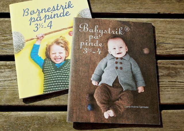 Børnestrik på pinde 3½-4, Babystrik på pinde 3½-4