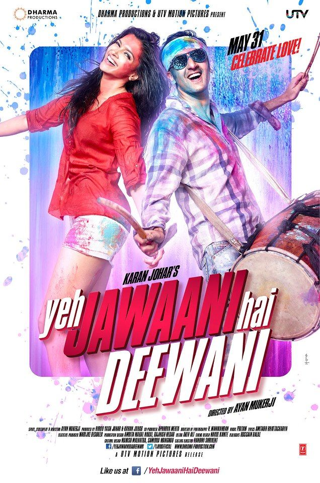 Here's the 2nd look of Ranbir Kapoor & Deepika Padukone from Yeh Jawaani Hai Deewani!
