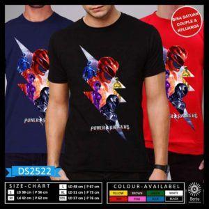 T-Shirt Power Rangers Movie 2017