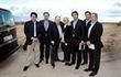 El magnate Sheldon Adelson visita los terrenos de Alcorcón donde podría ir Eurovegas