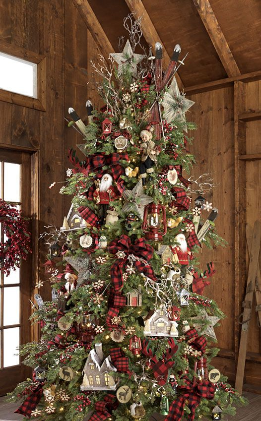 130 Best Christmas Trees Decorated Images On Pinterest