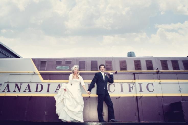 A different train shot