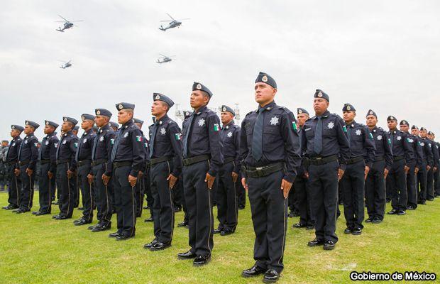 México presenta nuevo cuerpo policial