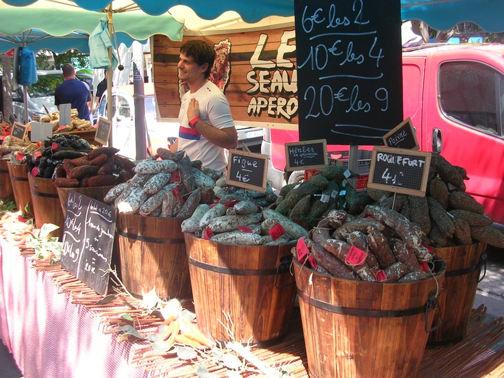 Market in Arles (South of France)