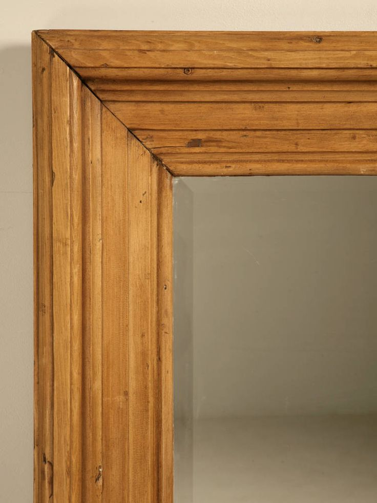 Antique English Scrubbed Pine Mirror at 1stdibs                                                                                                                                                                                 More