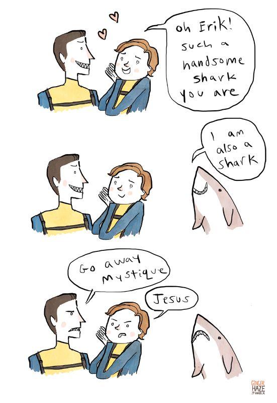 Erik is a shark.