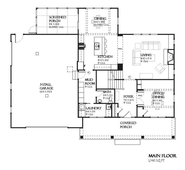 Craftsman style house plans 2700 square feet for 2700 sq ft house plans