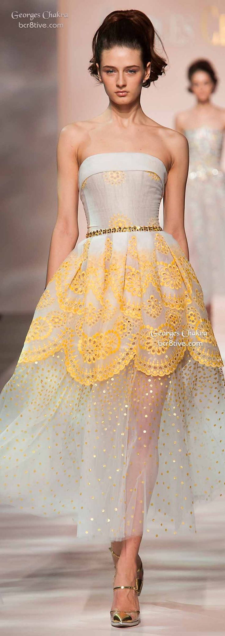 Georges Chakra Spring 2015 Haute Couture Collection