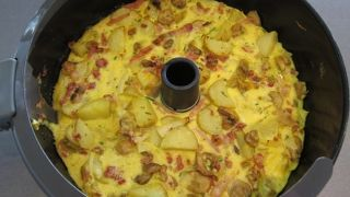 Actifry - omelet