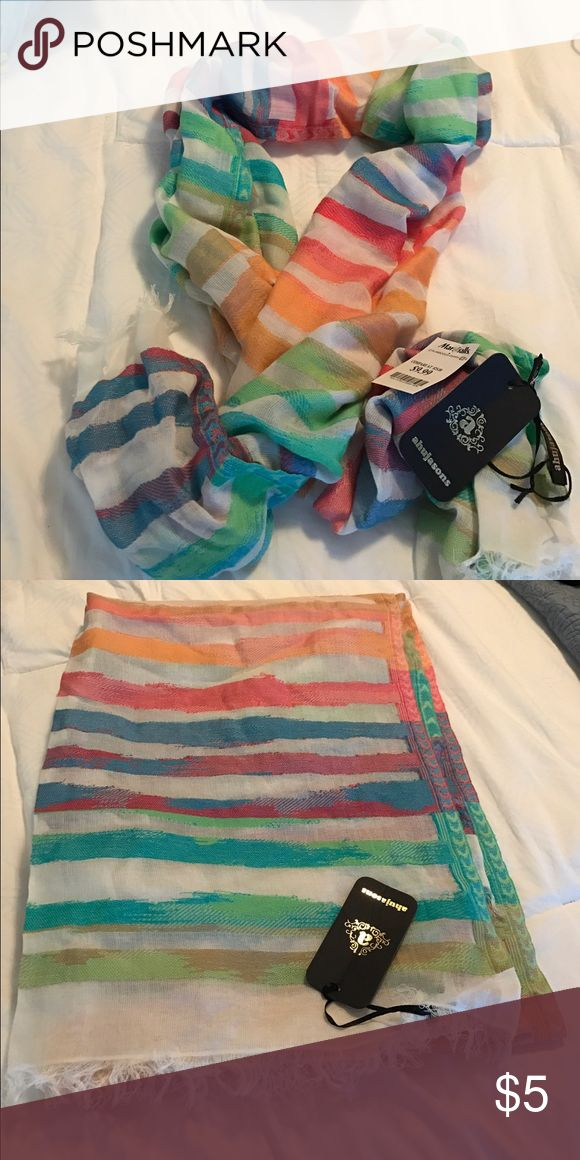 Scarf Striped scarf large from Marshalls ahujasons Accessories Scarves & Wraps