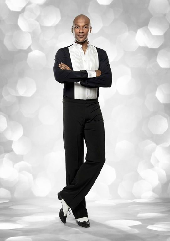 Colin Salmon Strictly Come Dancing 2012