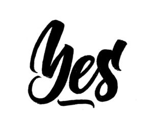 Yes | 100 Days of Lettering by Type and Graphics Lab | typeandgraphicslab.com
