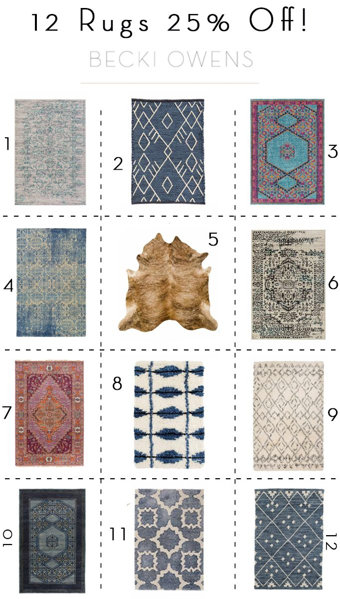 becki owens 12 beautiful rugs 25off i just noticed an amazing rug sale going on today rugs from some of my favorite brands like dash and albert