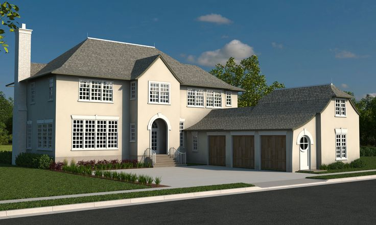 The veranda english country by rainey homes at daybreak for Rainey homes