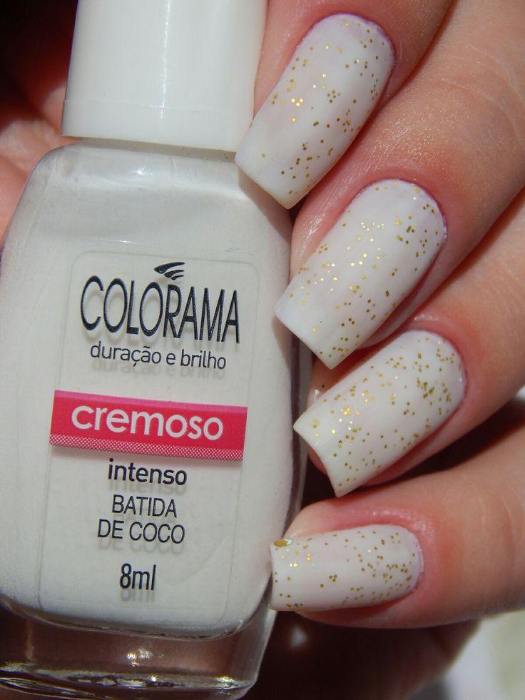 #unha #unhas #nail #nails #nailart #naildesign #esmalte #esmaltes #glitter #cores #shine #unhadecorada #white #esmaltecomglitter #branco #matte #polish #glaze #nailpolish #girl #manicure #mani #fashion #beauty #unhasfosca #fosco