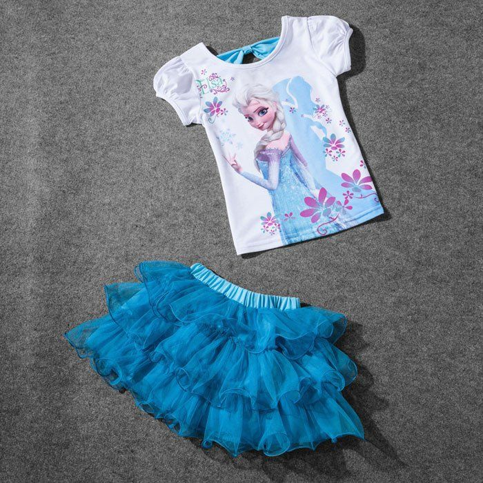 New arrival baby suit, girls summer suit (T-shirt + short skirt), chil – Gifts Leads