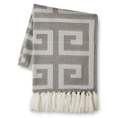 Threshold™ Greek Key Throw: