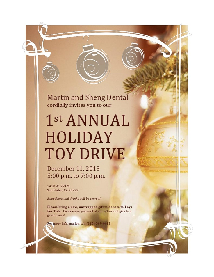 17 best images about toy drive on pinterest christmas parties ihop locations and toys. Black Bedroom Furniture Sets. Home Design Ideas