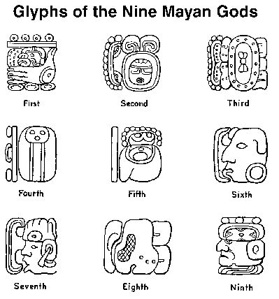 Tikal and the Nine Mayan Gods  The Nine Mayan Gods (Bolontiku) are the principle deities having dominion over the area of Central America from the Isthmus of Tehuantepec to the Isthmus of Panama.  Their power, wisdom, sanction and protection were invoked for all earthly and spiritual transactions – for healing, divination, success in agriculture, trade, politics and war; for help in personal matters such as love, childbearing, grief; for carrying (telepathic) messages over distance; and so…