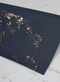 Papier peint Igneous Bleu Marine